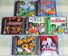 SEVEN Family Friendly games for PlayStation PSX PS1 PS2 all tested & working