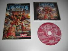 Warhammer Epic 40,000 FINAL LIBERATION Pc Cd Rom CD & Manual FAST  POST