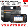 Foxwell NT624 Elite All System OBD2 Scanner Diagnostic  SRS ABS EPB Oil Reset