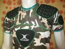 Ancien SOUS-MAILLOT de RUGBY PROTECTION GILBERT CAMOUFLAGE TL XV FFR IRB Top14