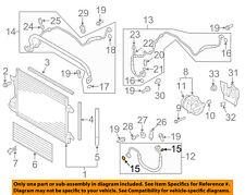 VW VOLKSWAGEN OEM A/C Condenser, Compressor Lines-Ac Line O-ring 4E0260749A
