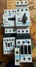 Contactors and overloads, lot of 2