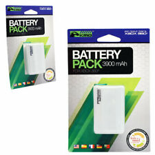Microsoft Xbox 360 WHITE Rechargeable Battery Pack 3900mAH for Controller KMD