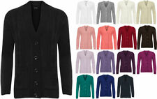 Polyester Solid Plus Size Jumpers & Cardigans for Women