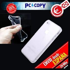 Funda gel TPU flexible transparente para iphone 4 4S. Ultra-thin cover/Toallitas