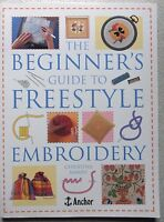 The Beginner's Guide To Freestyle Embroidery Christina Marsh pb
