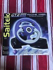 Nintendo GC Gamecube Saitek GTZ 500 Volante De Carrera BNWB Nuevo