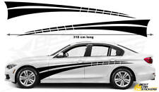 BMW Series 3  Racing Stripes Car Stickers  Decal Graphics