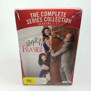 Frasier Complete Series 1 - 11 DVD Box Set VGC R4 Discs Flawless