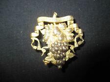 ancien bouton société chorale de Dijon laiton et bronze uniforme? début XX ème