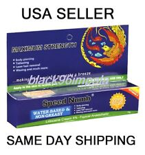 2X10g SPEED Numb Tattoo Numbing Cream USA Seller! Same Day Shipping!!!!
