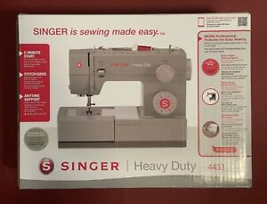 Singer Sewing Machine 4452 Heavy Duty with 32 Built-in Stitches | BRAND NEW