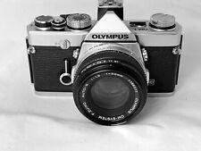 Olympus OM-1N Film Camera & 50mm f1.8 Lens, New Seals,