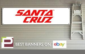 Santa Cruz Bike Workshop, Garage Banner, PVC with eyelets