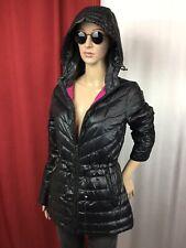 DKNY Goose Down Packable Winter Puffer Hooded Parka/Jacket/Coat women's S