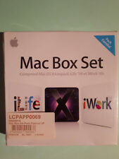 APPLE - Mac Box Set 09 Pack Familial : OS X Léopard, I Life '09 et I Work '09