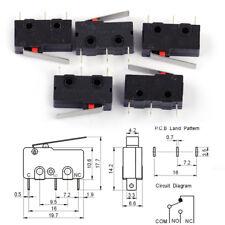 5x Mikroschalter Mikrotaster KW4-3Z-3 AC Endschalter 125V/250V 5A Für Mill CNC