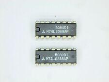 """M74LS368AP  """"Original"""" Mitsubishi  16P DIP TTL IC  2  pcs"""