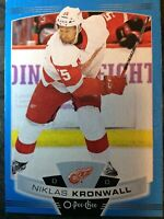 O-Pee-Chee 2019-2020 NIKLAS KRONWALL BLUE BORDER HOCKEY CARD #466