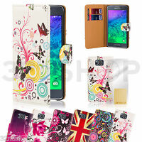 32nd Design book PU leather wallet case cover for Samsung Galaxy Alpha G850