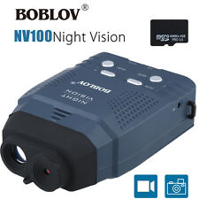 Handheld Monocular Binoculars Hunting Camera IR Night Vision 4GB fr Wildlife To