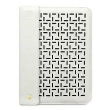 Custodie e copritastiera bianco Per Apple iPad 2 in pelle sintetica per tablet ed eBook