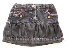 Jupe MINICONF 4 ans ( 104 cm )  Fille courte en jean taille ajustable