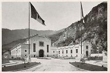 D1403 Sondrio - Mese - Centrale elettrica - Stampa antica - 1928 old print