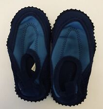 AIRWALK Children's Size 5 Toddler Blue & Black Slip-On Summer Aqua Socks