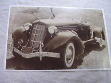 1935 AUBURN ROADSTER   11 X 17  PHOTO  PICTURE