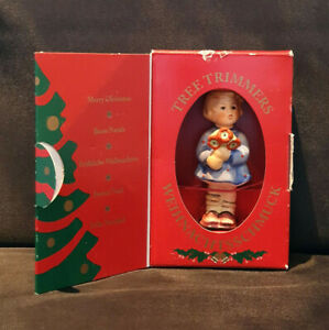 "Goebel MJ Hummel Christmas Tree Ornament ""Girl With Nosegay"", HUM 239/A/O #1207"