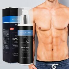 Maycreate Hair Removal Cream for Men Painless and Effective Hair Removal 80ml