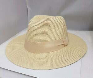 High Quality Light Weight  FOLDABLE / Adjustable SUMMER PANAMA HAT In LONDON UK