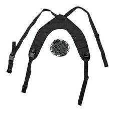 Blackhawk 44CH00BK Black Versa Chest Harness w/ Holster / Accessory Platform