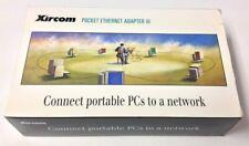 Vintage Xircom Parallel Port 10Base-2 Pocket Ethernet Adapter PE3-10B2 in Box
