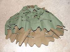 Salade de casque réversible verte-marron neuve pour casque F1 Armée Française