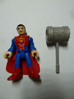 Superman in armor Fisher-Price Imaginext action figure toy DC superhero w hammer