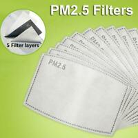 PM 2.5 Pack of 24 Activated Charcoal Filter Replacements Pollution Allergy