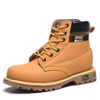 Mens High Top Steel Toe Safety Shoes Trainers Work Boots Sports Hiking Sneakers