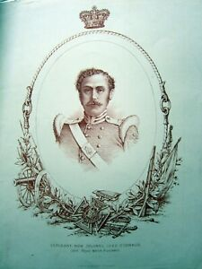 Original 19th Century Lithograph Sir Luke O´Connor VC 23rd RWF Crimea 1854