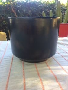 Rare Matte Black GAINEY POTTERY C-8 ARCHITECTURAL Mid Century California