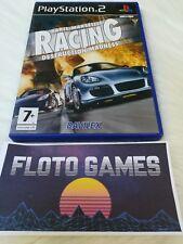 Jeu Paris Marseille Racing Destruction Madness PS2 PAL Complet CIB - Floto Games