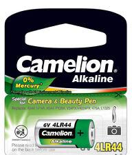 4 x Camelion 4LR44 Blister 4LR44EP/1BB PX28A A544 V4034PX K28A Batterie