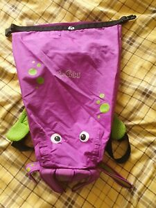 Trunki Kids Purple Octopus Travel Swimming Bag Used