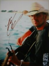 KENNY CHESNEY  SIGNED COLOR PHOTO  (w/GUITAR)