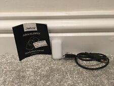 Jabra Clipper Bluetooth Stereo Headset - White