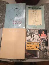 Gustav Klimt Schiele Drawings Art Since 1940 Art Book Lot Of 4