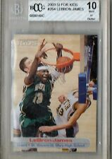 2003 SI For Kids LeBron James #264 BCCG Beckett 10 HS71