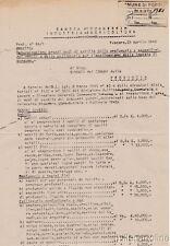 § DA PESCARA 23 APRILE 1945 - Protocollo ciclostilato per prezzi medi negozi