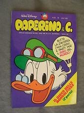 PAPERINO E C. #  36 - 7 marzo 1982 - CON INSERTO - WALT DISNEY - OTTIMO